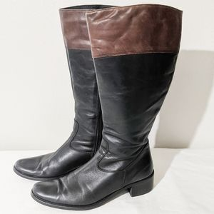 Davos gomma leather boots made in Italy
